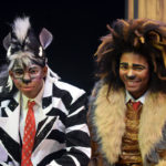 J. Isaiah Smith as Marty the Zebra and Jordan Smith as Alex the Lion