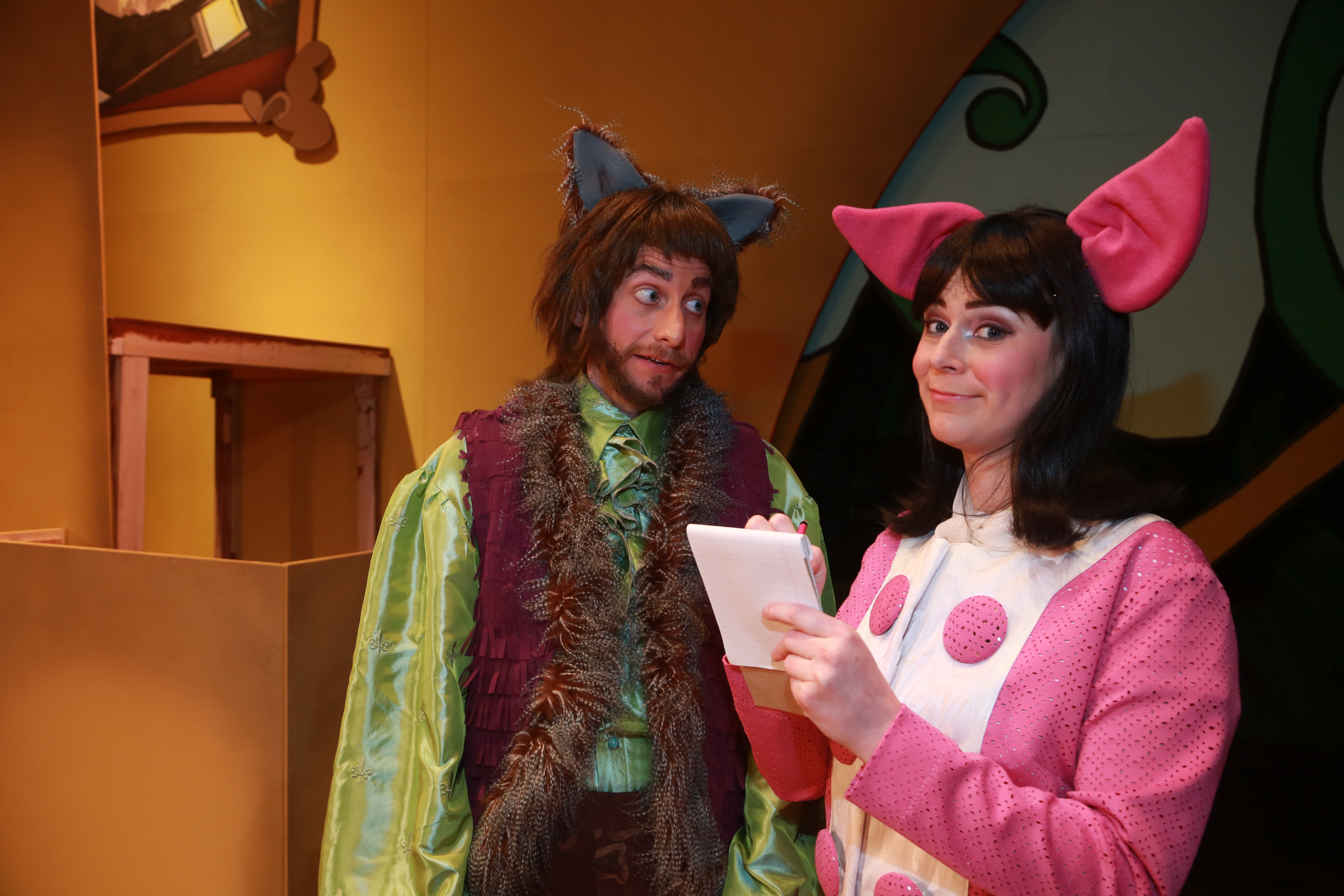 The True Story of the 3 Little Pigs | The Rose Theater