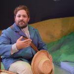 Ezra Colón as Vincent Van Gogh in the world premiere of VAN GOGH & ME