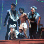 The cast of The Jungle Book