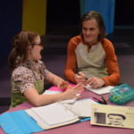 Mallory Vallier and Ken Palmer in The Meaning of Maggie