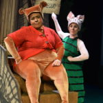 Carina DuMarce and Stephanie Jacobson in WINNIE THE POOH