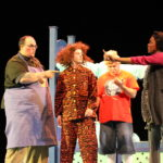Karl Houser, Kendra Ball, Robby Stone and Mareshah Smith in JUDY MOODY & STINK