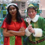Dan Chevalier and Regina Palmer in ELF THE MUSICAL.