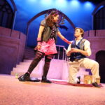 Roni Shelley Perez as Mal and Trey Mendlik as Ben in The Rose Theater's production of Disney's Descendants